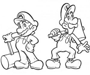 Luigi Coloring Lesson Kids Coloring Page Coloring Lesson Free Printables And Coloring Pages For Kids